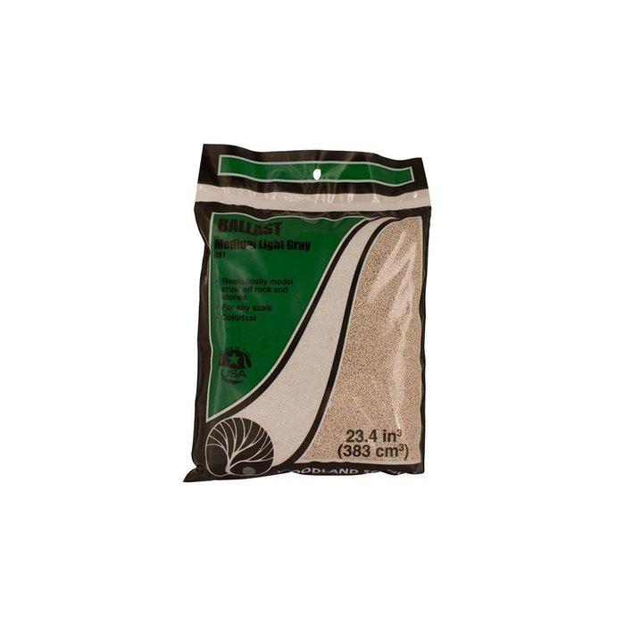 Medium Ballast Bag, Light Gray