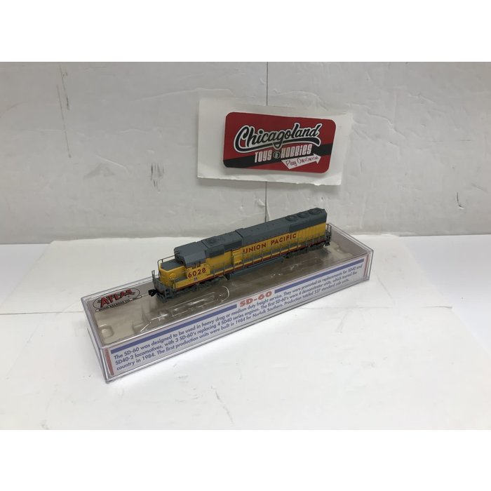 Atlas #49026 N UP #6028 SD60 Diesel