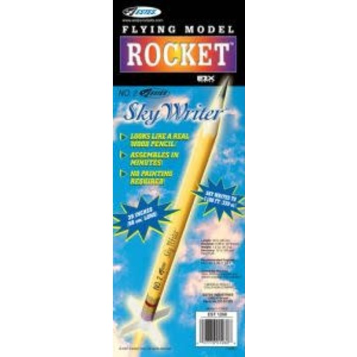 No.2 Estes Sky Writer  Rocket  E2X