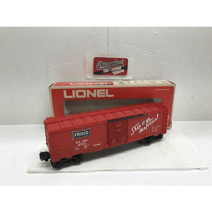 Lionel 6-9751 O Frisco Box Car