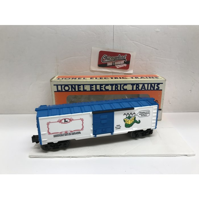 Lionel 6-19925 O Learning Center Boxcar