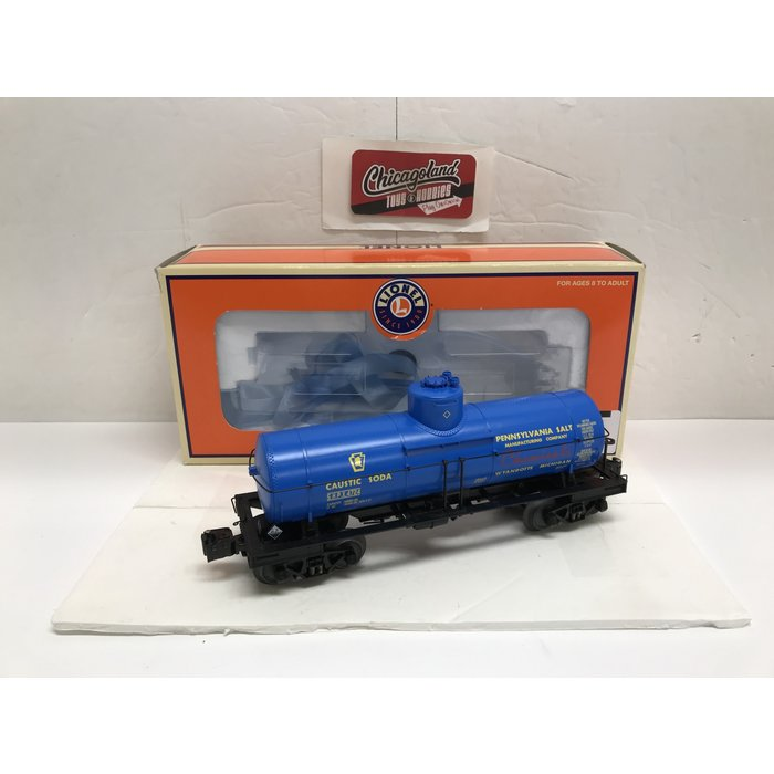 Lionel 6-19645 O Penn Salt 8000 Gallon Tank Car