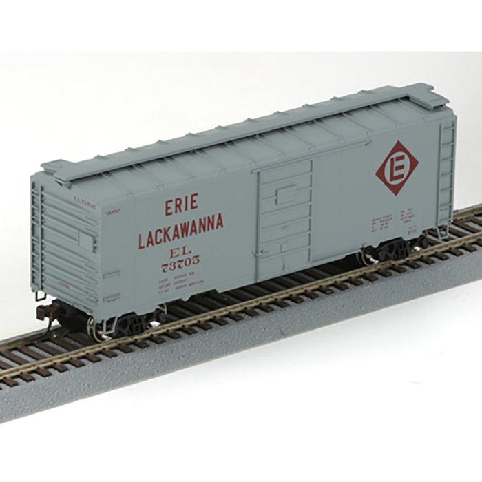 Athearn 70338 HO 40' Boxcar Erie Lackawanna