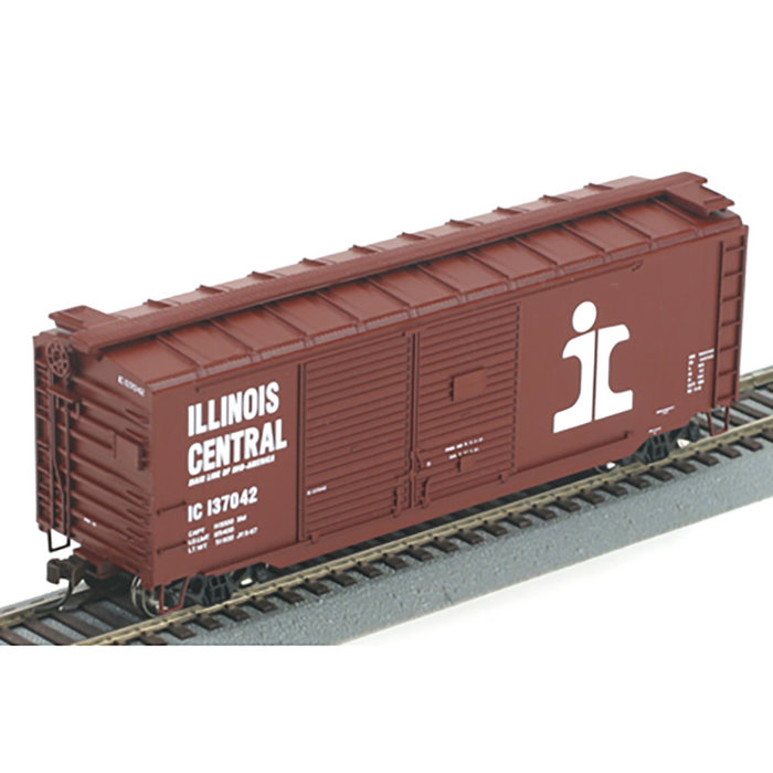 Athearn 70177 HO 40' Double Door Boxcar Illinois Central #137042