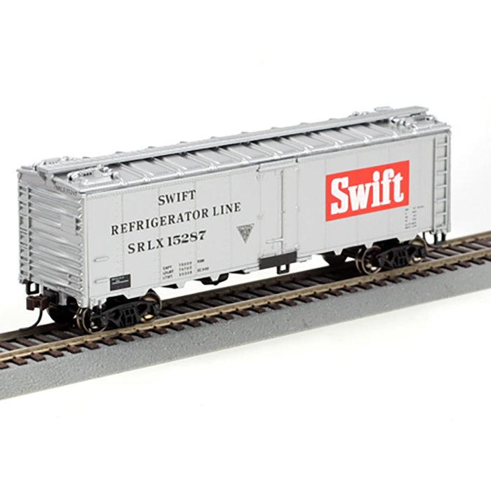 Athearn 71332 HO 40' Steel Reefer Swift #15287