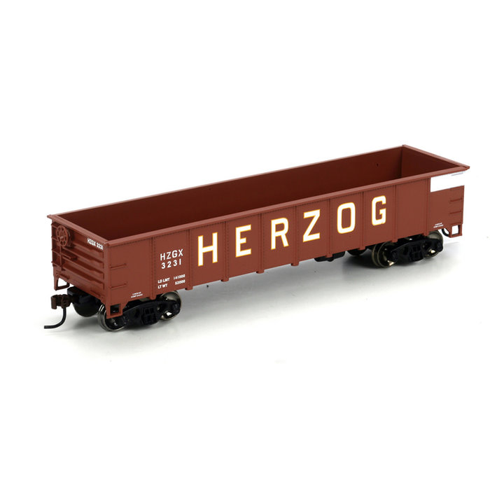 Athearn 86073 HO 40' Gondola Herzog #3231