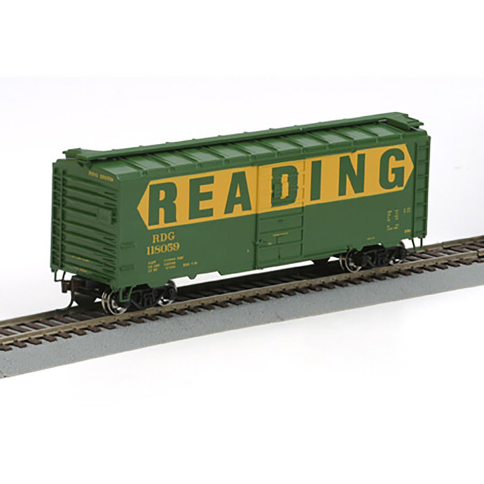 Athearn 70356 HO 40' Boxcar Reading #118059