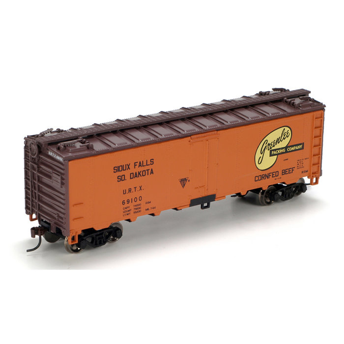 Athearn 71347 HO 40' Steel Reefer Greenlee #69100
