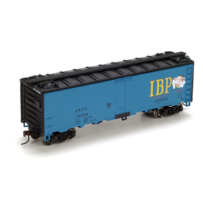 Athearn 71349 HO 40' Steel Reefer Iowa Beef Packers #73303