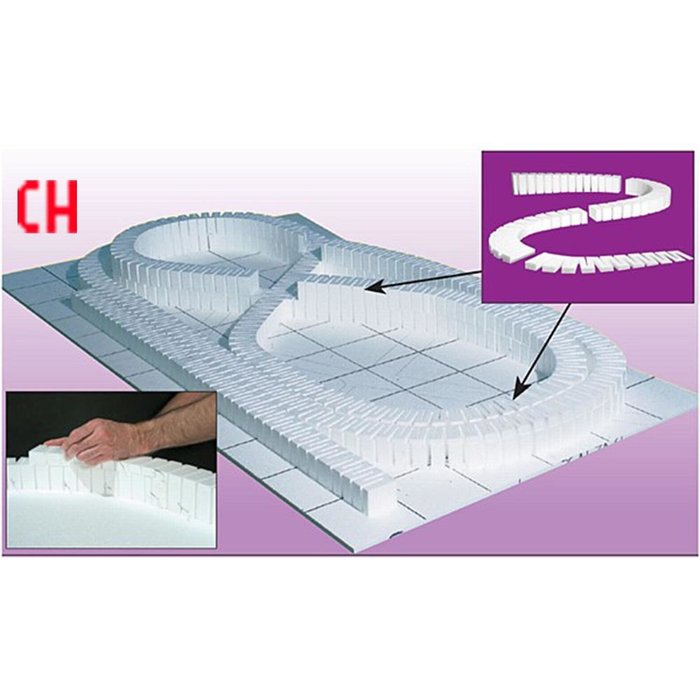 Foam Incline Set-3% 6pc