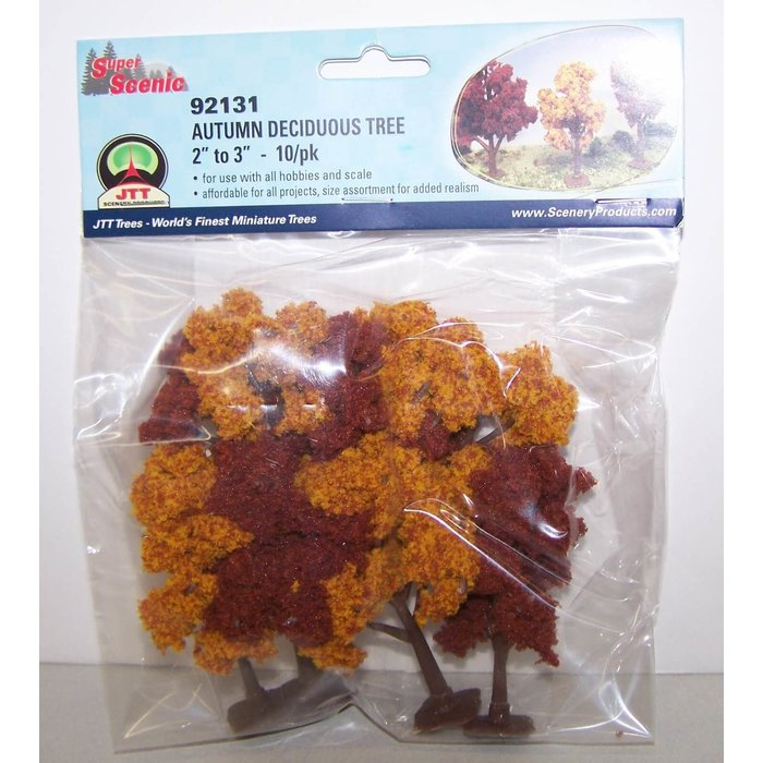 "Super Scenic Tree, Autumn Deciduous 2-3"" (10)"