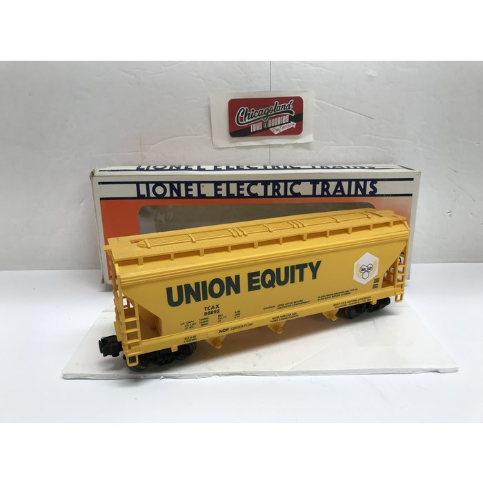 Lionel 6-19963 O 1992 TTOS Convention Car (Union Equity Grain Hopper)