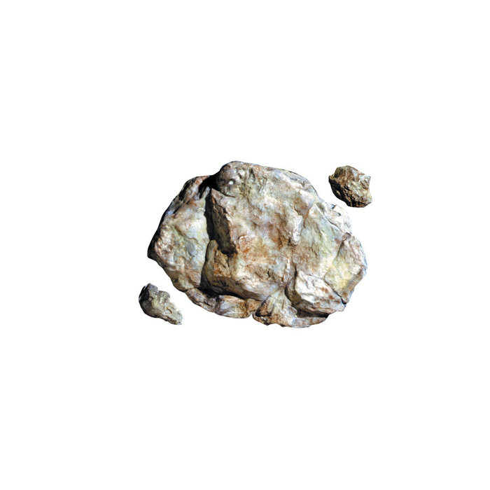 Weathered Rock rock mold 5x7