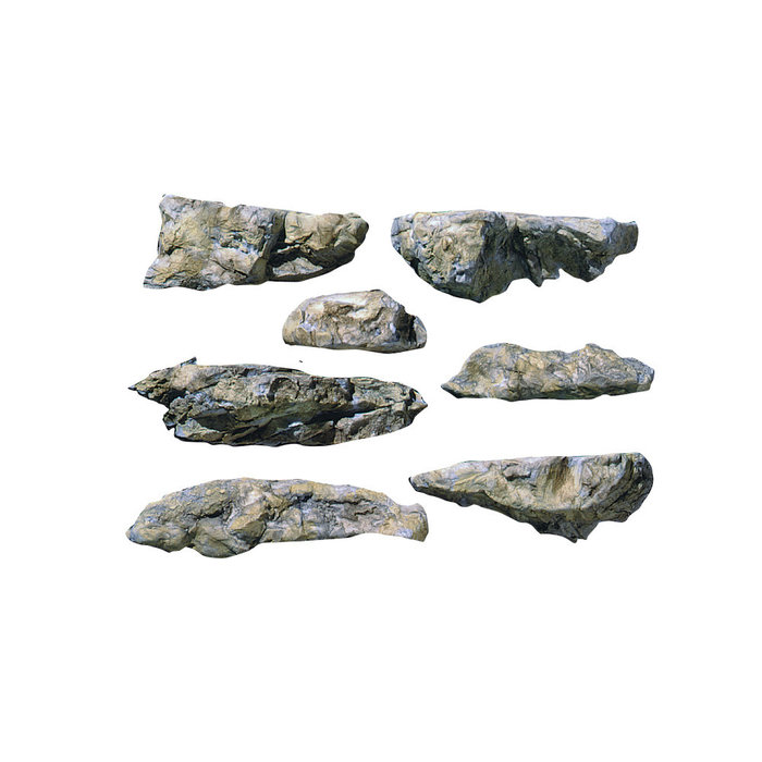 Embankments rock mold 5x7
