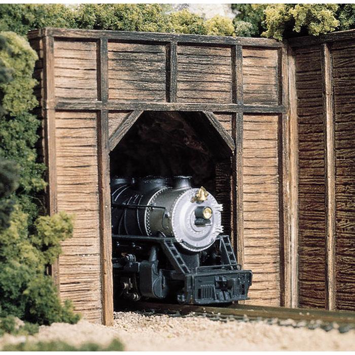 HO Single Timber Portal