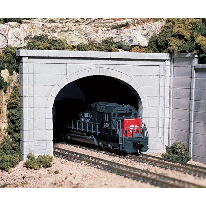 HO Double Concrete Portal