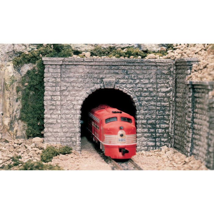 O Cut Stone Single Tunnel Portal