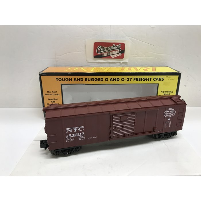 MTH 30-7440 O NYC Semi-Scale Box Car