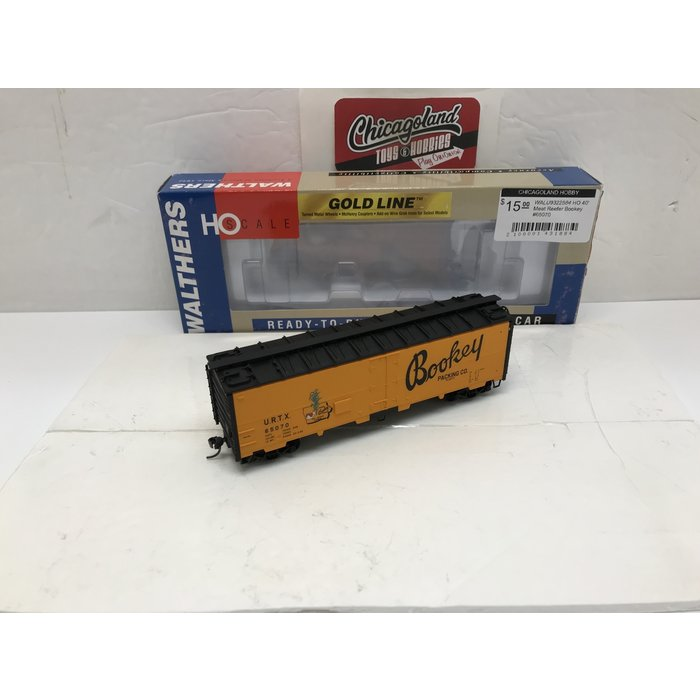 Walthers 932-2584 HO 40' Meat Reefer Bookey #65070