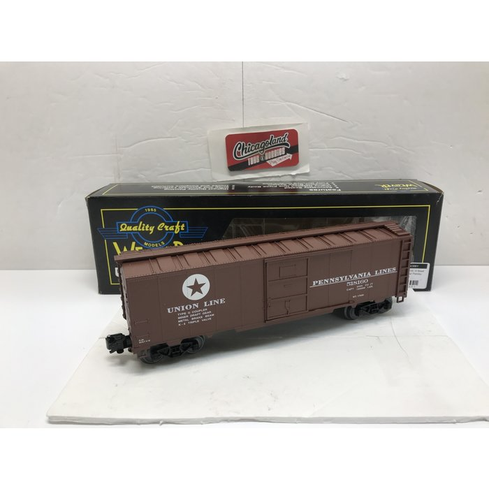 Weaver U3518L O Pennsylvania Lines Steel Sided Boxcar