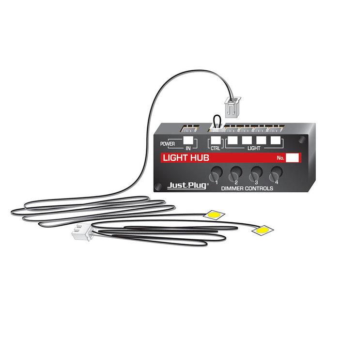 Just Plug Lights & Hub Set - Warm White
