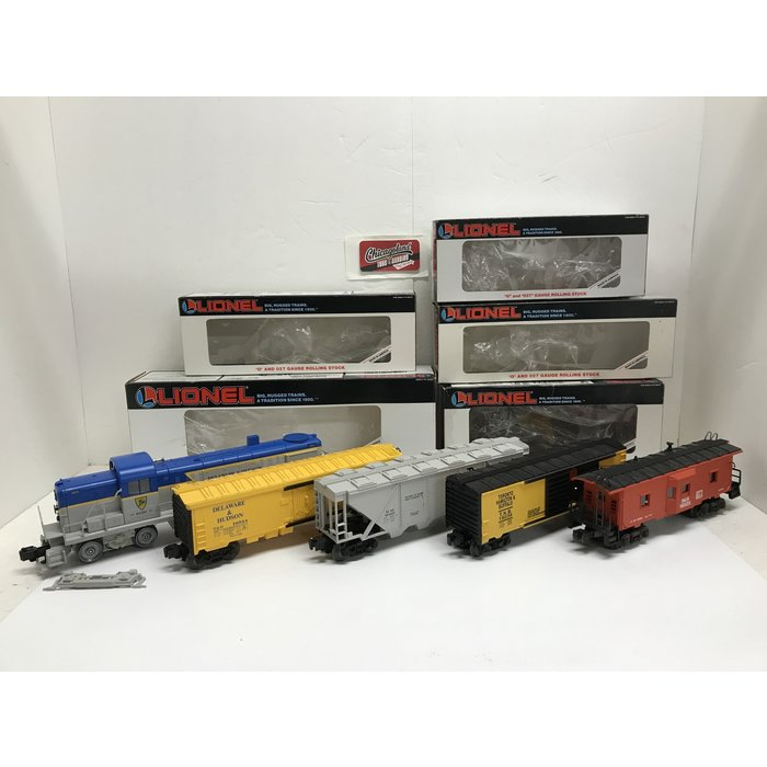Lionel 6-18814 O D&H RS-3 Diesel Freight Set