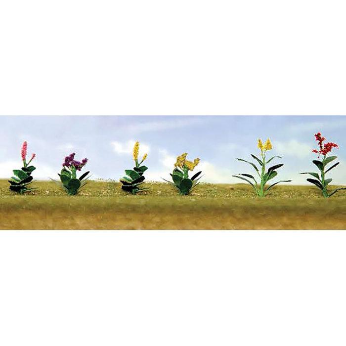 HO Flower Plants Assortment #4/12pk