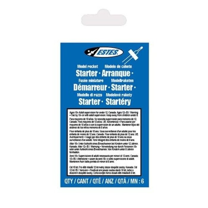 Model Rocket Igniters/6pk