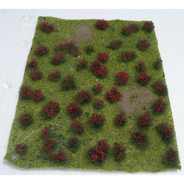 Flowering Meadow Red 5'' X 7'' Sheet