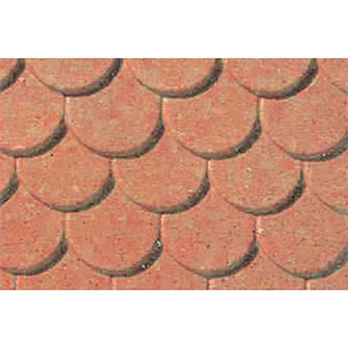 Pattern Sheets/Scalloped Edge Tile HO (1:100)/2pk
