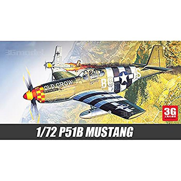 1:72 USA P51B Mustang