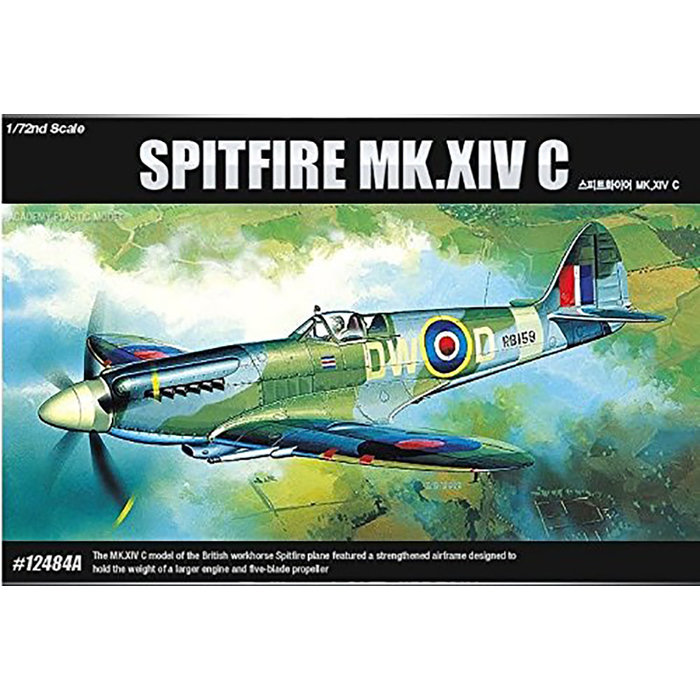 1/72 Spitfire Mk. XIV-C RAF (was kit #2130)