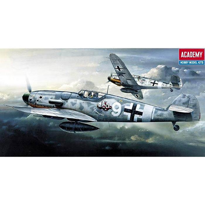 1/72 Messerschmitt Bf 109G-6 (was kit #1670)