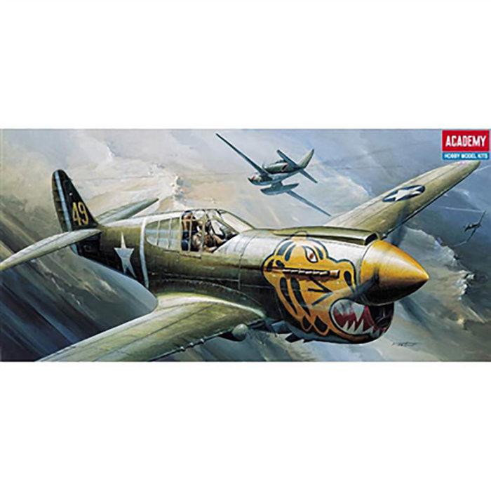 1/72 P-40E Warhawk (was kit #1671)