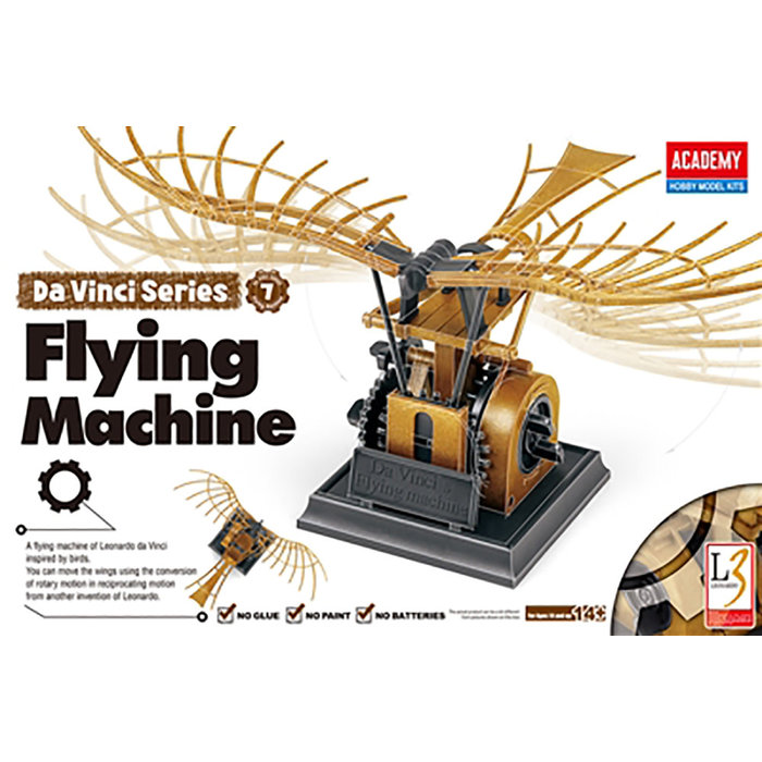 Da Vinci Flying Machine