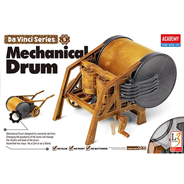 Da Vinci Mechanical Drum