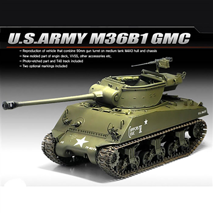 1/35 M36B1 GMC US ARMY