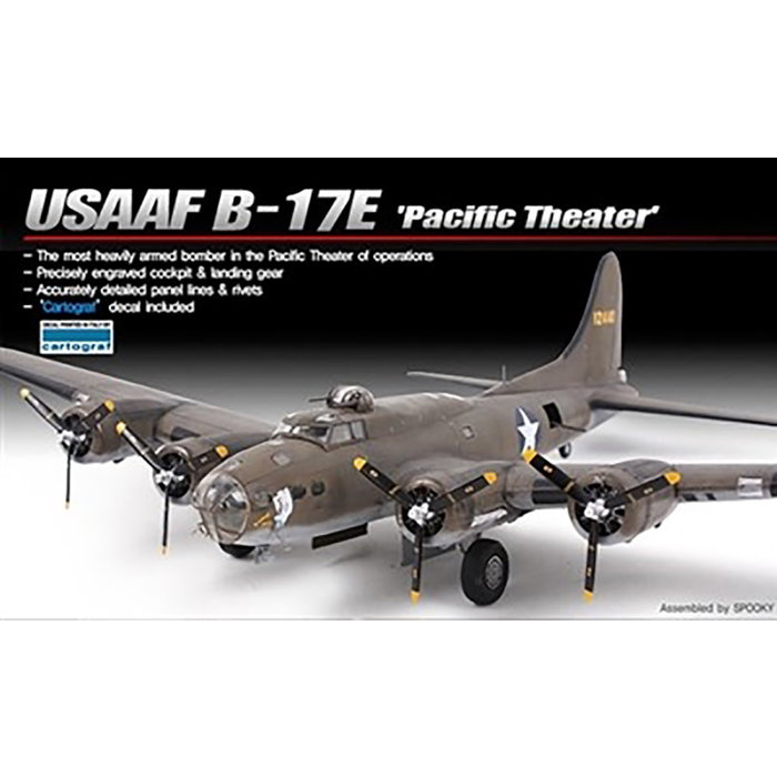 """1/72 B-17E USAAF """"Pacific Theater"""""""