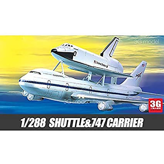1/288 Space Shuttle & Boeing 747 Carrier (was kit #1640)