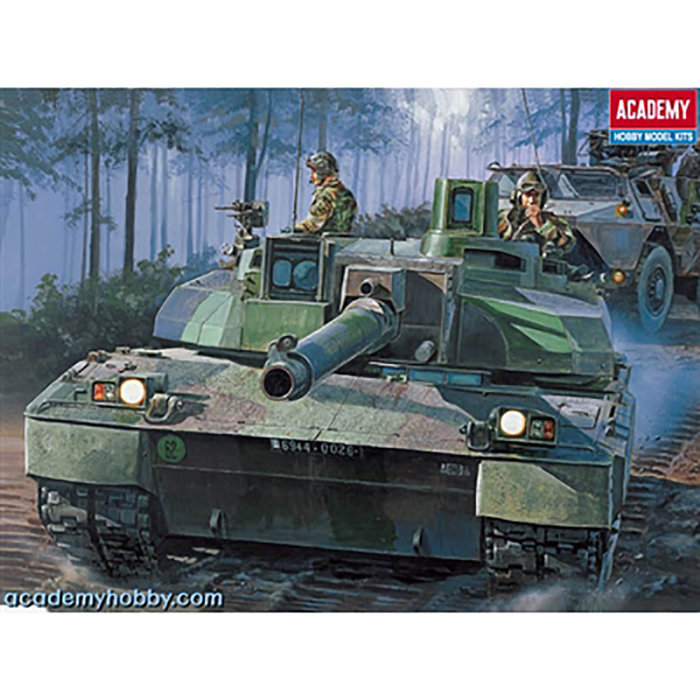 1/48 Leclerc French MBT (motorized)