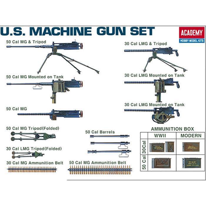 1/35 US WWII Machine Gun Set (was kit #1384)