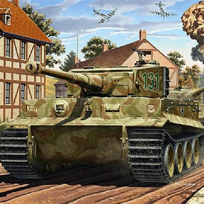 1/35 Tiger-I Mid. Ver 70th Anniv of Normandy Invasion