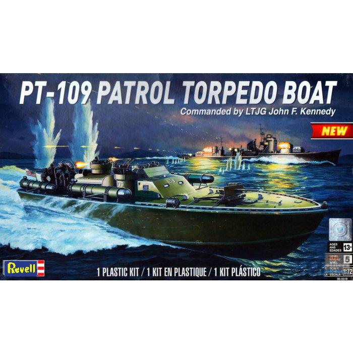 1/72 Pt-109 Patrol Torpedo Boat - Jfk Skill 5