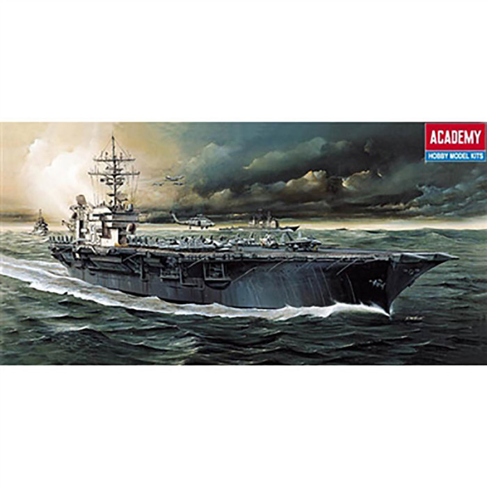 1/800 USS Kitty Hawk (was kit #1444)