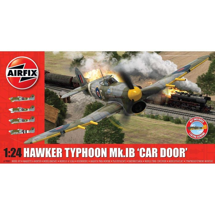 Hawker Typhoon 1B - Car Door (plus extra Luftwaffe scheme)