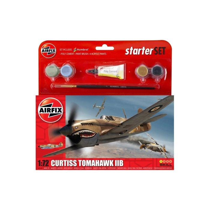 Small Starter Set - Curtiss Tomahawk IIB