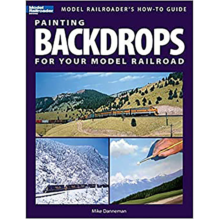 Painting Backdrops for Your ModelRR