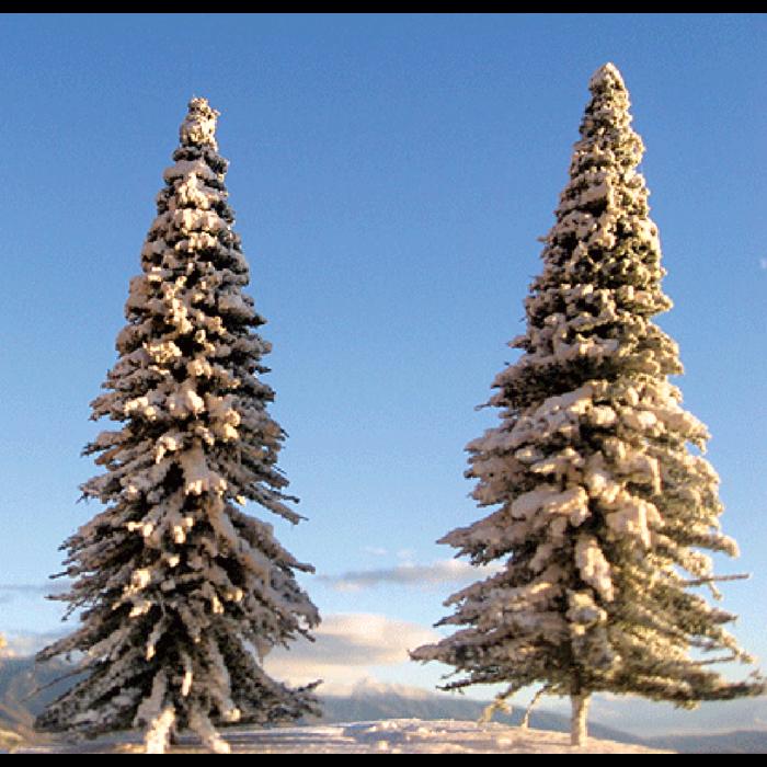 """Pine w/Snow Asrt 3-9"""" 16/"""