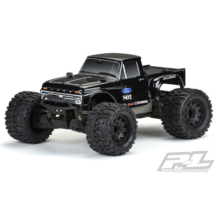 1/10 1966 Ford F-100 (Black) Body for Stampede