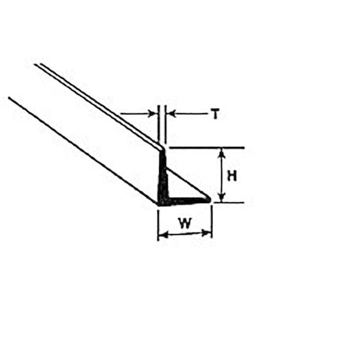 """AFS-8 Angle,1/4"""" (5)"""
